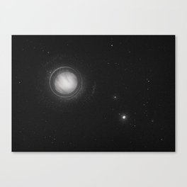 Planets Lost in the Vast of Space: 01 Canvas Print