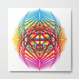 4 Corners of Abundance (wide) Metal Print