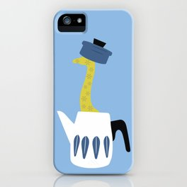 The Giraffe and the pot iPhone Case
