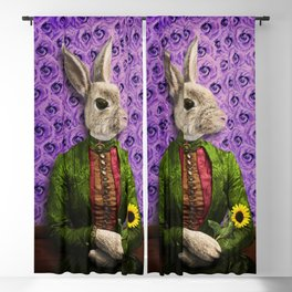 Miss Bunny Lapin in Repose Blackout Curtain