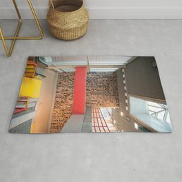 Detroit People Mover Art Broadway Rug