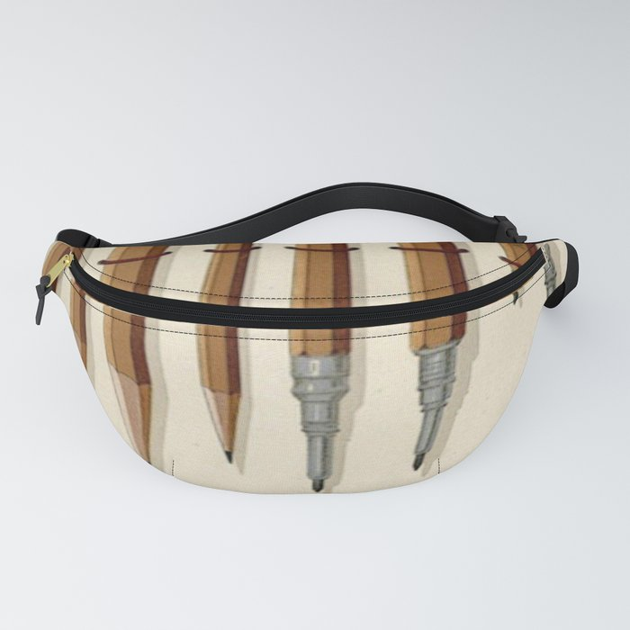 Antique Pencils Fanny Pack