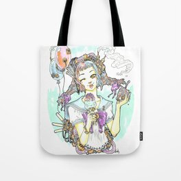 Mechanical ice cream Tote Bag