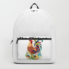 Chicken Whisperer Tshirt Funny Farm Poultry Farmer Tee Gifts Backpack