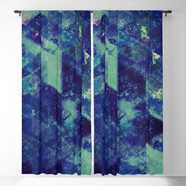Abstract Geometric Background #20 Blackout Curtain