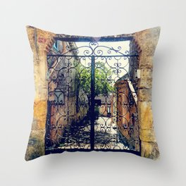 Erice art 10 Throw Pillow
