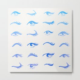 Mascara Envy – Blue Ombré Palette Metal Print