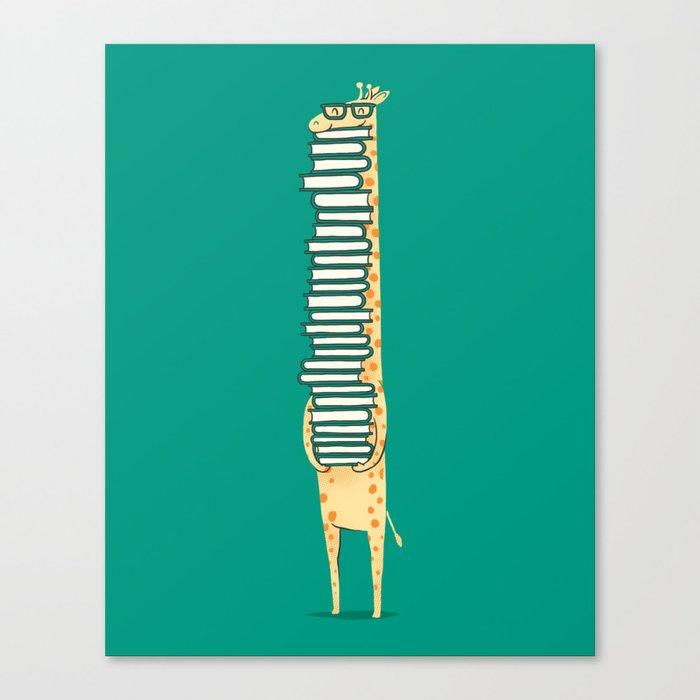 A book lover Leinwanddruck