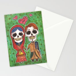 Te Amo Day of the Dead Stationery Cards