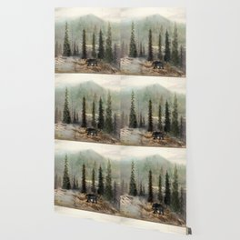 Mountain Black Bear Wallpaper