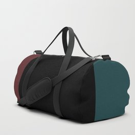 Contemporary Color Block XII Duffle Bag