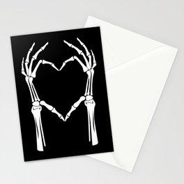White Heart of Bones Stationery Cards