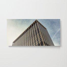 New York City, Manhattan, tall building (2019-GNY18) Metal Print