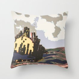 taproom spacers Throw Pillow