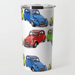 2CV pattern new Travel Mug