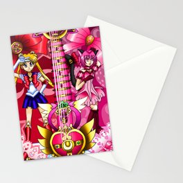 Sailor Mew Guitar #1 - Sailor Moon & Mew Ichigo Stationery Cards