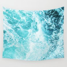 Perfect Sea Waves Wall Tapestry