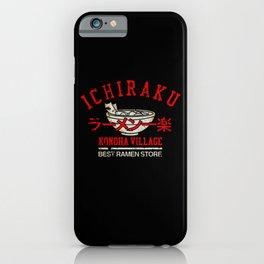 Ichiraku Ramen v.3 iPhone Case