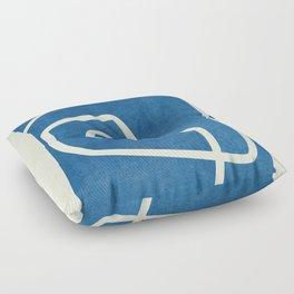 abstract minimal 57 Floor Pillow