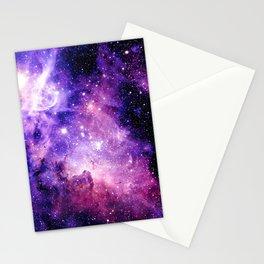Galaxy Nebula Purple Pink : Carina Nebula Stationery Cards