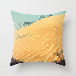 Sandbanks Provincial Park Poster Throw Pillow