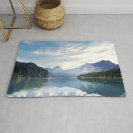 Wanderlust - Mountains, Lake, Forest Rug