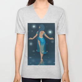 Water Witch Unisex V-Neck
