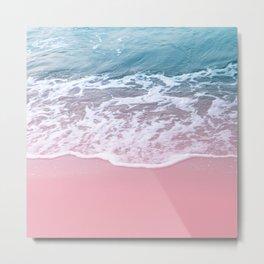 Pink Ocean Beauty Dream #1 #wall #decor #art #society6 Metal Print