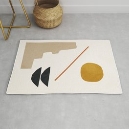 abstract minimal 6 Rug