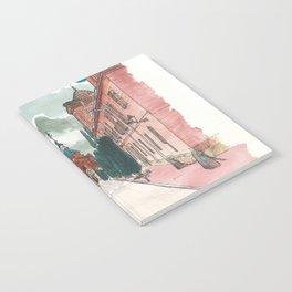 Cloudy street Notebook