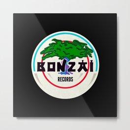 Bonzai Records - Deejay Metal Print
