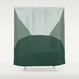 Deyoung Eucalyptus Shower Curtain