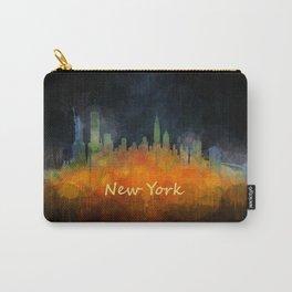 New York City Skyline Hq V04 Carry-All Pouch