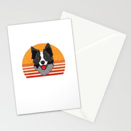 Herd That Border Collie Collies Lover Herding Sheepdog Stationery Cards