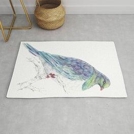 Mr Kereru, New Zealand native wood pigeon Rug