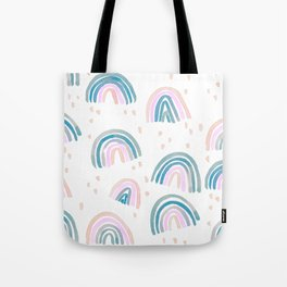 Rainbow Chroma Pastel Tote Bag