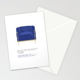 Petit Armchair Stationery Cards