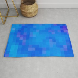 Re-Created Colored Squares No. 60 by Robert S. Lee Rug