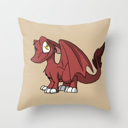Chocoberry SD Furry Dragon Throw Pillow