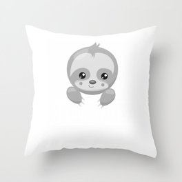 38b4331b7fe8ac0e grayscale Throw Pillow