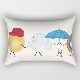 happy days Rectangular Pillow