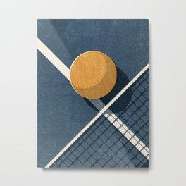 BALLS / Table Tennis Metal Print