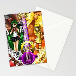Sailor Mew Guitar #67 - Sailor Pluto & Mew Pudding Stationery Cards