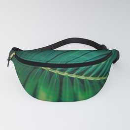 Green Leaf Palm Frond Photo Fanny Pack