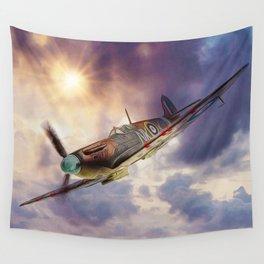 Supermarine Spitfire Wall Tapestry