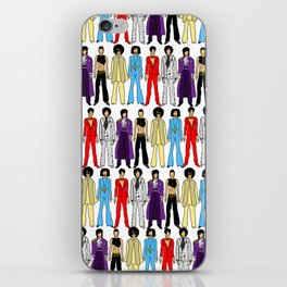 Purple Power Outfits iPhone Skin