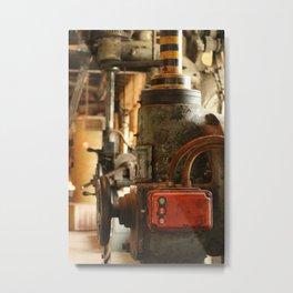 Heavy Industry - Old Machines Metal Print