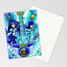 Sailor Mew Guitar #16 - Sailor Mercury & Mew Minto Stationery Cards