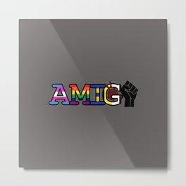 Amiga/Amigo Metal Print