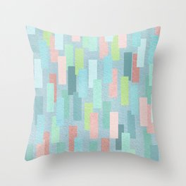Short Stripes Throw Pillow